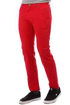 Штаны узкие Emerica Blackout Red