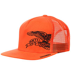 Бейсболка с сеткой Antihero 1/2 Eagle Msh/Twll Hat Orange