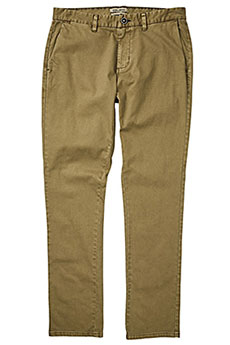 Штаны прямые Billabong New Order Chino Gravel18