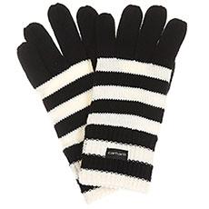 Перчатки женские Carhartt WIP Park Strip Gloves Black/White