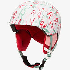 Шлем для сноуборда детский Roxy Slush Girl Bright White School