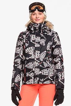 Куртка утепленная женская Roxy Jet Ski True Black Impressio