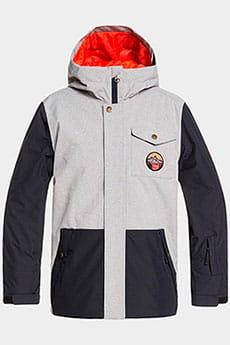 Куртка утепленная детская QUIKSILVER Ridge Light Grey Heather