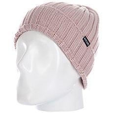 Шапка женская Rip Curl Ridged Beanie Dusty Pink