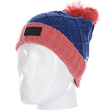 Шапка Rip Curl Wool Pompom Girl Beanie Palace Blue