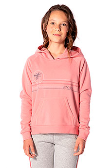 Толстовка кенгуру детская Rip Curl Honolulu Lulu Hooded Fleece Brandied Aprico