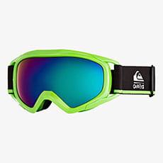 Маска для сноуборда детская QUIKSILVER Eagle Neon Green