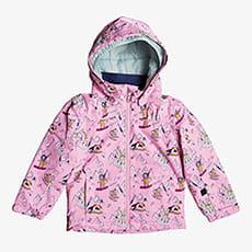 Куртка утепленная детская Roxy Mini Jetty Prism Pink Snow Trip