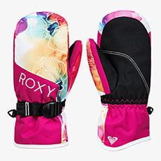 Варежки сноубордические детские Roxy Rx Jett Gir Mit Bright White Sunshin