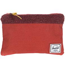 Клатч женский Herschel Field Pounch Rust Knit