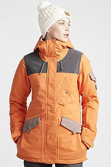 Куртка утепленная женская Billabong Scenic Route Orange