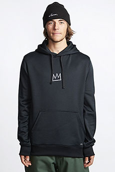 Толстовка кенгуру Billabong Basquiat Thermal Fle Black