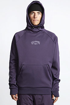 Толстовка кенгуру Billabong Downhill Hood Dark Purple