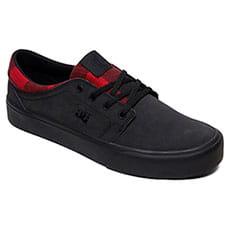 Кеды низкие DC Shoes Trase Wnt Black Buffalo Plaid