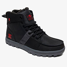 Ботинки зимние DC Shoes Woodland Black/Battleship/Ath