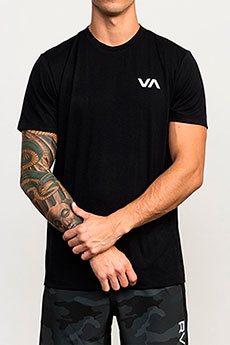 Футболка RVCA Va Vent Top Black