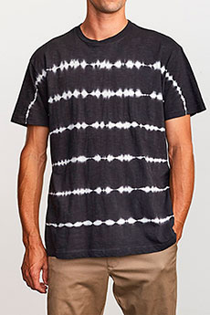 Футболка RVCA Rail Stripe Black