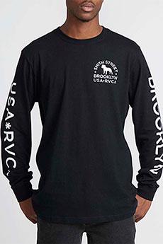 Лонгслив RVCA Wicks Black