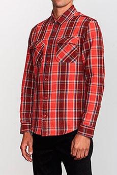 Рубашка в клетку RVCA Thatll Work Flannel Baked Apple