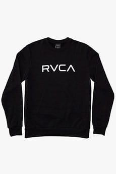 Толстовка классическая Rvca Big Rvca Crew Black