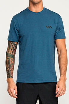Футболка Rvca Va Vent Top Surplus Blue