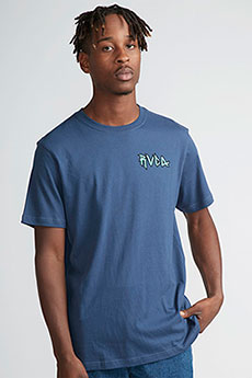 Футболка Rvca Monster Pack Seattle Blue