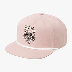 Бейсболка с прямым козырьком женская Rvca Graphic Pack Lavender