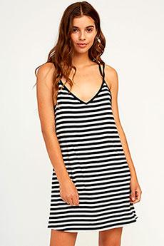 Платье женское Rvca Vacay Black/White