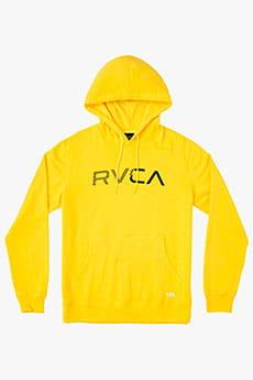 Толстовка кенгуру Rvca Scratched Lemon