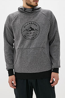 Толстовка кенгуру Billabong Downhill Hood Heather Grey