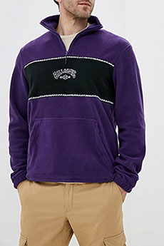 Толстовка кенгуру Billabong Arch Quarter Zip Dark Purple