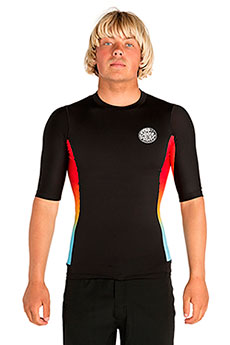 Гидрофутболка Rip Curl Team Aggro S/Sl Uv Tee Black