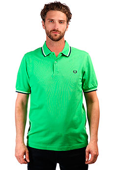 Поло Fred Perry Fit Twin Tipped Shirt Spring Green