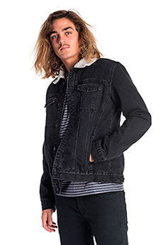 Куртка джинсовая Rip Curl Dr. Ding Jacket Salt Black