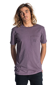 Футболка Rip Curl Organic Pocket Purple