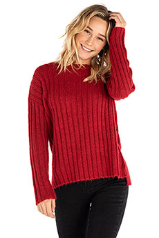 Свитер женский Rip Curl Pana Crew Sweater Jester Red