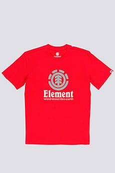 Футболка Element Vertical Fire Red Ss
