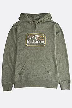 Толстовка кенгуру Billabong Dive Pullover Dark Military