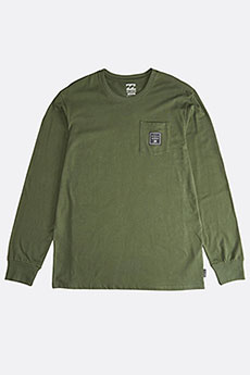 Фуфайка Billabong Stacked Ls Tee Dark Military