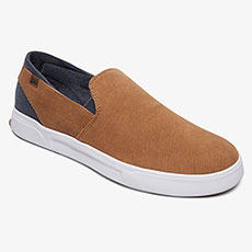 Слипоны QUIKSILVER Surfcheckiiprem Shoe Brown/Brown/White