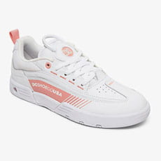 Кроссовки DC Shoes LEGACY 98 SLIM J SHOE WPN WHITE/PINK