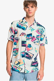 Рубашка QUIKSILVER B11vacancyshirt Snow White Vacancy