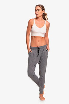 Штаны спортивные Roxy Jungle Roots Charcoal Heather