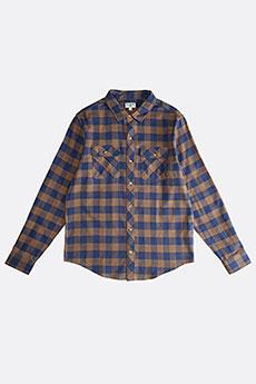 Рубашка в клетку Billabong All Day Flannel Ls Dark Earth