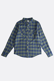 Рубашка в клетку Billabong All Day Flannel Ls Forest