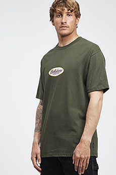 Футболка Billabong 97 Ss Tee Dark Military