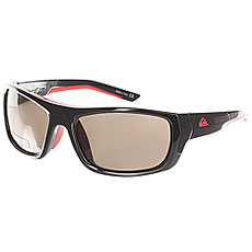 Очки Quiksilver Knockout Shiny Black/Red
