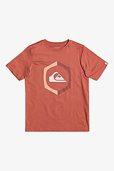 ФУТБОЛКА QUIKSILVER (ФУФАЙКА) SURETHINGSSYTH B TEES MNL0 REDWOOD