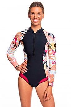 Женский гидрокостюм с длинными рукавами и молнией на груди 1mm POP Surf Roxy