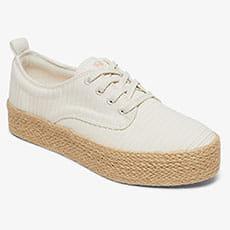 Кеды женские Roxy Shaka Jute J Shoe Wht